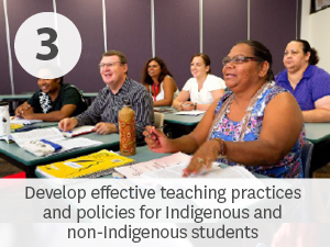 Develop effective teaching practices and policies for Indigenous and non-Indigenous students.
