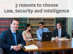 3 reasons to choose Law, Security and Intelligence at Macquarie