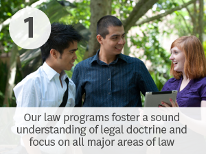 Macquarie pioneered the interdisciplinary study of law. Our law programs foster a sound understanding of legal doctrine and focus on all major areas of law.